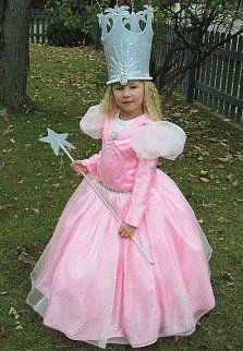 Picture stunning homemade Glinda the Good Witch costume; Wizard of Oz character  sc 1 st  Pinterest & Glinda good witch child costume | Costumes | Pinterest | Children ...