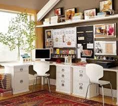 home office two person desk - Google Search