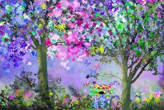 La seta-perro se camufla en el bosque de las fantasías