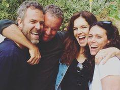 JR Bourne (Chris Argent), Linden Ashby (Sheriff Stilinski), Susan Walters (Natalie Martin) & Melissa Ponzio (Melissa McCall)