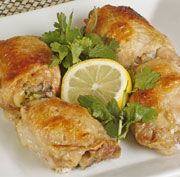 Honey Lemon Roast Chicken Thighs