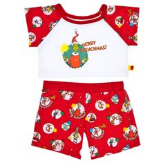 Shop, Explore and Play at Build-A-Bear® Grinch Pajamas, Build A Bear Outfits, Pjs, American Girl, Workshop, Building, Swimwear, Shopping, Lion