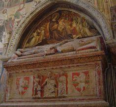 ca. 1390 - 'Federico Cavalli', Sant'Anastasia, Verona, Italy | Flickr - Photo Sharing!