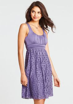 I have this dress in coral and I love it.  It is so comfortable, and can be casual or dressy!
