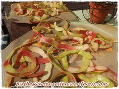 [Apfel] Apfeltee aus Apfelschalen – Apfelschalen trocknen (M)eine Anleitung – Birthes bunter Blog-Garten