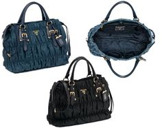 1d3f9b141a87 Prada Embossed Fabric handbag (BN1788 QR1). Click the picture for more  details. Embossed