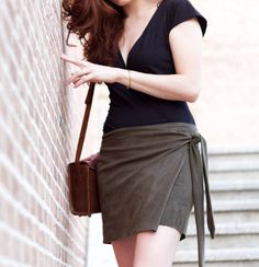 DIY Wrap Skirt - FREE Sewing Pattern and Tutorial