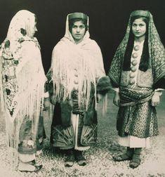 Women in Kastelorizo (Megisti), early Dodecanese, Greece