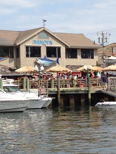 Oak Bluffs, Martha's Vineyard ~Nancy's My favorite spot for seafood and Donovan's drinks!!!