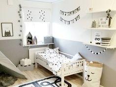 Habitación infantil en tonos grises original y moderna - Minimoi (