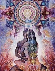 A complete guide to tantra for beginners: what is tantric sex, what it looks like and feels like, the purpose of tantra, and basic tantric sex practices. Psychedelic Art, Tantra, Illustration Art Dessin, Twin Flame Love, Twin Flames, Flame Art, Chakra Art, Spirited Art, Sacred Feminine