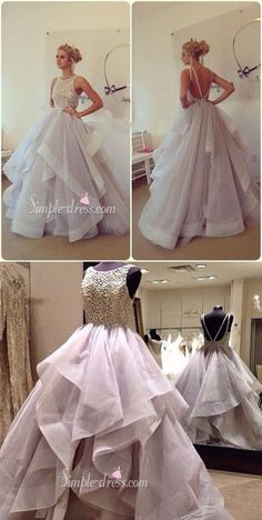 nice prom dresses 2016, princess long prom dresses, wedding dresses...