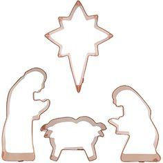 Nativity Scene Cookie Cutters (Set 1)