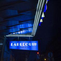 arlequin nuit – Enseignes de cinéma – actualité, signalétique