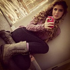 Allie DeBerry Curly-Haired Gorgeous January 19, 2013