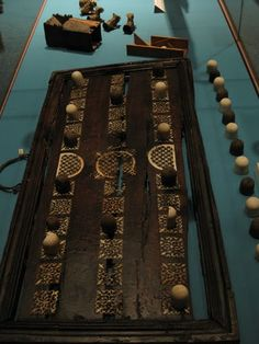 Ancient Egyptian Game #Egypt, Archaeology, artifacts, board games