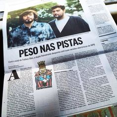 Fatnotronic no jornal 'O Globo' - 2014
