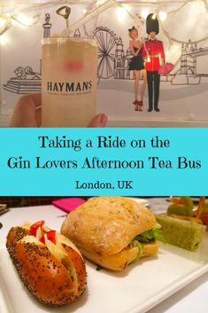 Introducing London's quirkiest afternoon tea; The Gin Lovers Afternoon Tea. Take a ride on an iconic London red bus while sampling delicious food from B-Bakery and enjoying refreshing cocktails made with Haymans gin