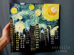 Image result for van gogh painting party