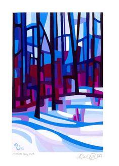 "Daily Paintworks - ""Landscape Study #29"" - Original Fine Art for Sale - © Mandy Budan"