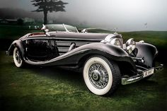 My all time favourite! A 1936 Mercedes-Benz 540K Special Roadster at Pebble Beach.