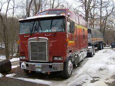 U.J. Semi Trucks, Big Trucks, Cab Over, Kenworth Trucks, Custom Trucks, Glen Rice, Vehicles, Rest Area, Usa
