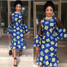 Lovely Ankara Gown Styles for Beautiful Ladies.Lovely Ankara Gown Styles for Beautiful Ladies Unique Ankara Styles, Ankara Long Gown Styles, Beautiful Ankara Styles, Kente Styles, Ankara Gowns, Ankara Dress, African Dresses For Women, African Print Dresses, African Attire