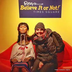 Felipe, o pequeno viajante: Ripley´s Believe It or Not em Times Square, New York City