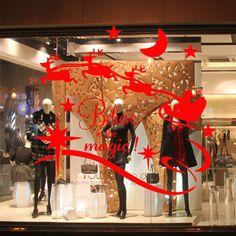resultado de imagen para decoracion para tiendas navidad