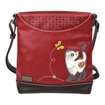 This enduring messenger bag that converts from a cross body to a shoulder bag is adorned with a charming applique. Vegan leather with a fine pebbled texture. zip close and adjustable shoulder strap. Cute Purses, Purses And Bags, Waist Pouch, Novelty Gifts, Cat Lover Gifts, Inspirational Gifts, Crazy Cat Lady, Vegan Leather, Spring