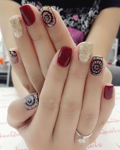 22 + 2019 year updated trent nail designs, 22 + 2019 year updated trent nail designs - 1 In the modern year, young people and ladies want to use the perfect manicure style to enhance the beauty. Love Nails, Fun Nails, Pretty Nails, Gelish Nails, Manicure E Pedicure, Cute Nail Designs, Short Nails, Nail Arts, Beauty Nails
