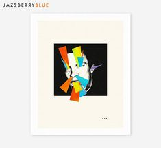 WITCHCRAFT 2 Surreal Minimal Abstract Collage Art Print