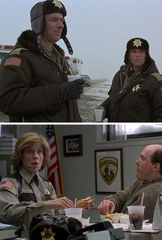 """Fargo - """"No."""" That's the first thing you've said in the last four hours. That's, a fountain of conversation there, buddy. That's a geyser.""""  ~  Carl Showalter"""