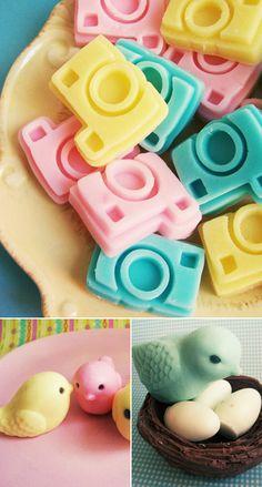 camera soaps too cute!