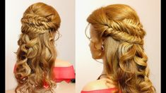 Hairstyles for long hair. French and fishtail braids