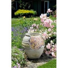 Bond Manufacturing - Y93400 - Rosedale - 19 Inch Fountain with Light * Pinterest Friends Only: Save 10% on everything on PatioProductsUSA.com with #coupon code PIN10 *