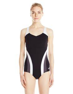 Speedo Women's Flow Active One-Piece Fitness Swimsuit