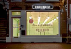 Amsterdam has just seen the opening of its first laundry locker room space, with the inauguration of Bubble&Stitch.