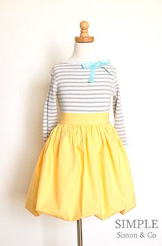 A Bubble Skirt Tutorial - Simple Simon and Company