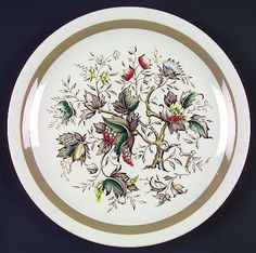 Enoch Wood & Sons china. Love this stuff.