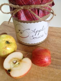 Sugarless apple sauce recipie