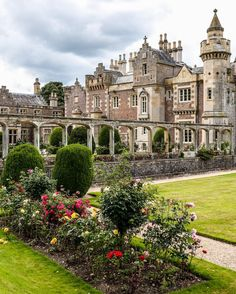 Abbotsford House and Gardens - Scottish Borders, Scotland
