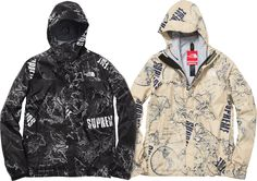 SS12 Supreme x The North Face