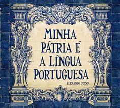"Tiles ""My homeland is the Portuguese Language"" - Fernando Pessoa"