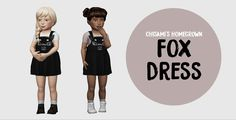Sims 4 CC's - The Best: Toddlers Dress & Shoes by Owl Plumbob