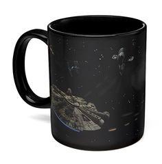 'Star Wars' Battle Scene Heat Changing Mug