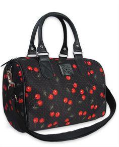Liquor Brand Damen CHERRIES ARTS Handtasche/Bags.Tattoo,Pin up,Oldschool Style