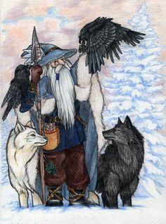 Odin, Grey Wanderer
