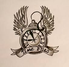 Image result for time flies art