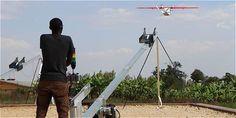 Nueva forma de transportar sangre en Ruanda por medio de Drones.